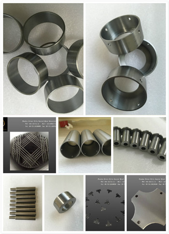 Pure 99.95% tungsten parts for crucible, boat, cap
