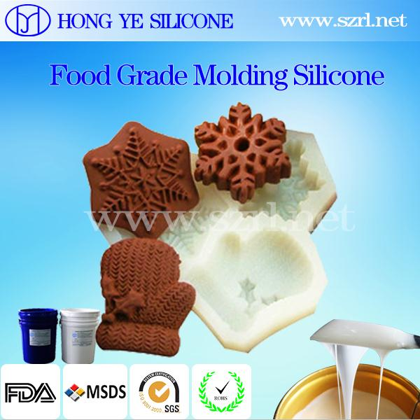 Hong Ye silicon Platinum series silicone rubber for food