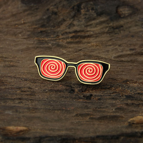 Glasses Custom Enamel Pins
