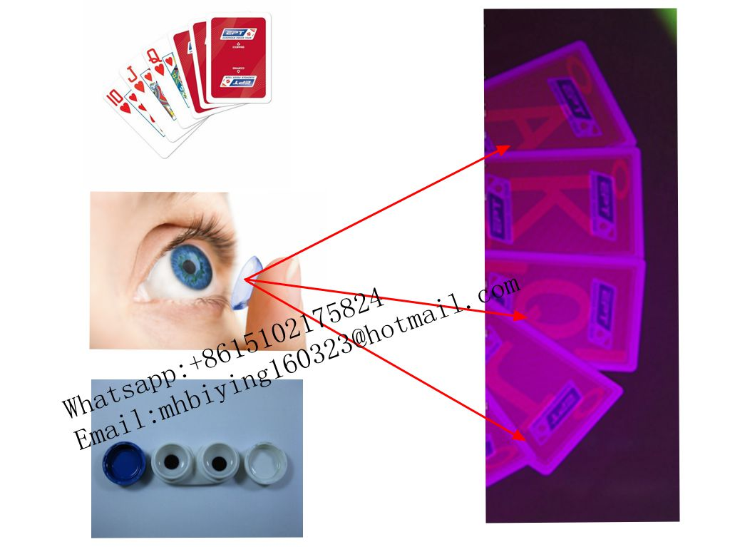 Copag EPT plastic marked cards for UV contact lenses/invisible ink/cards cheat/perspective glasses/casino cheat