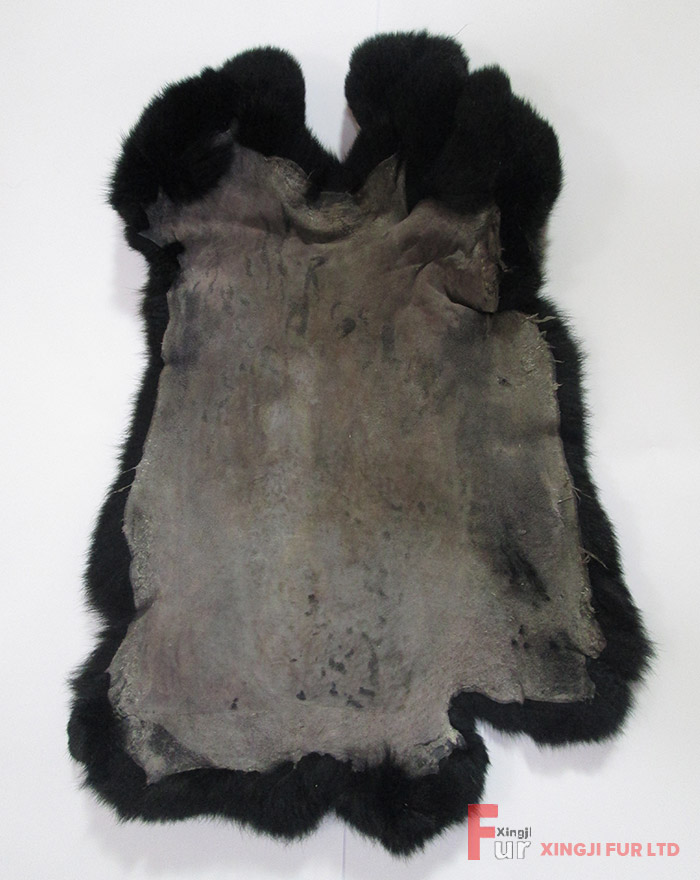 Dyed Rabbit Fur Skin