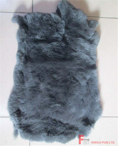 Dyed Rex Rabbit Fur Skin