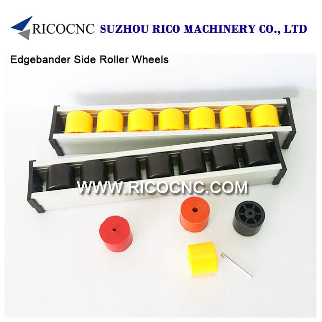 Edge Bander Plastic Side Roller Wheels