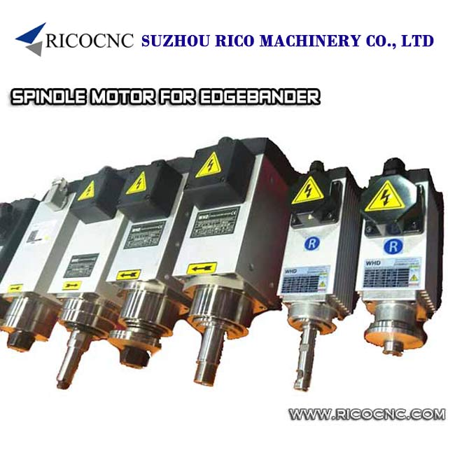 Edge Bander Electric Spindle Motors for Edge Banding Machine Pre-Milling Trimming