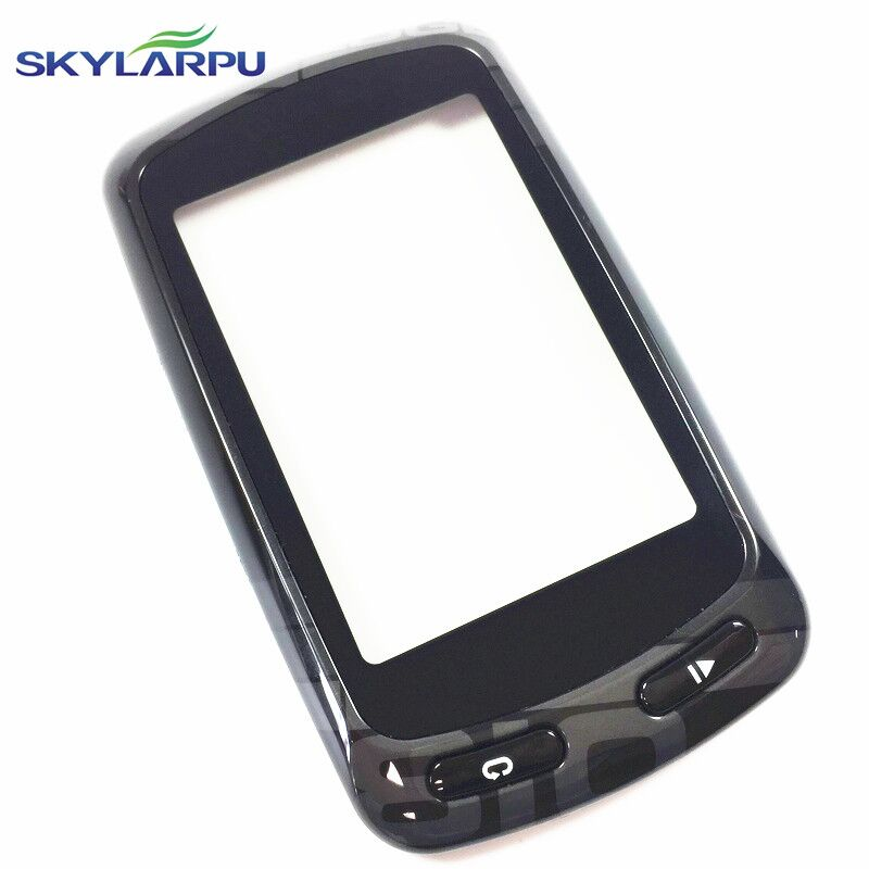 Capacitive Touchscreen for Garmin Edge 810 GPS Bike Computer Touch screen digitizer panel (with Black frame)