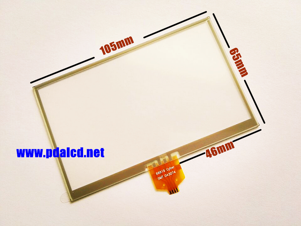 4.3-inch Touch screen panels for LMS430HF33 LMS430HF38 GPS Touch screen digitizer panel replacement Free shipping
