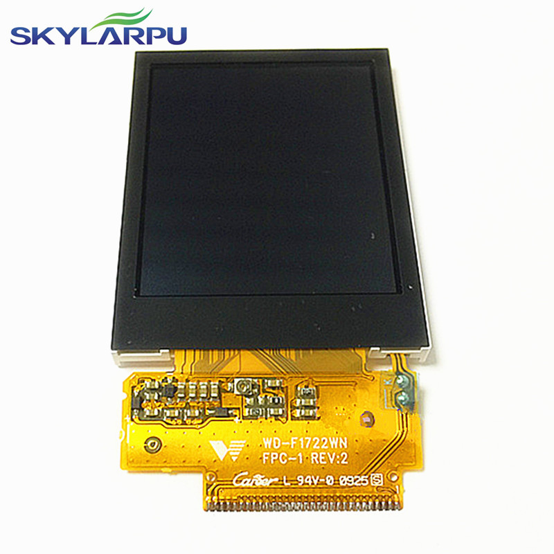 2.2 inch WD-F1722WN FPC-1 REV:2 LCD screen for Garmin edge 705 GPS Bike Computer LCD display screen panel replacement