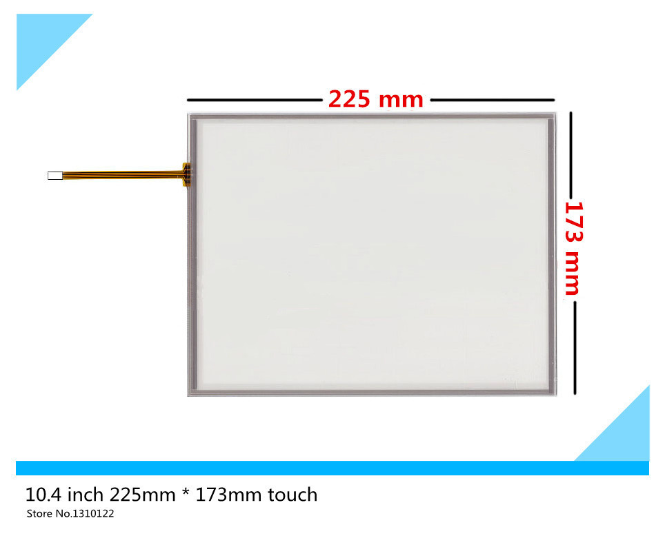 10.4 inch 4 wire 225mm*173mm Resistive Touch Screen Digitizer for AMT 9509 A 9509;BIndustrial equipment ;armamentarium