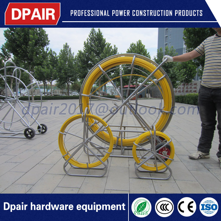 suppliers in china fiber snake duct rodder manufacturer