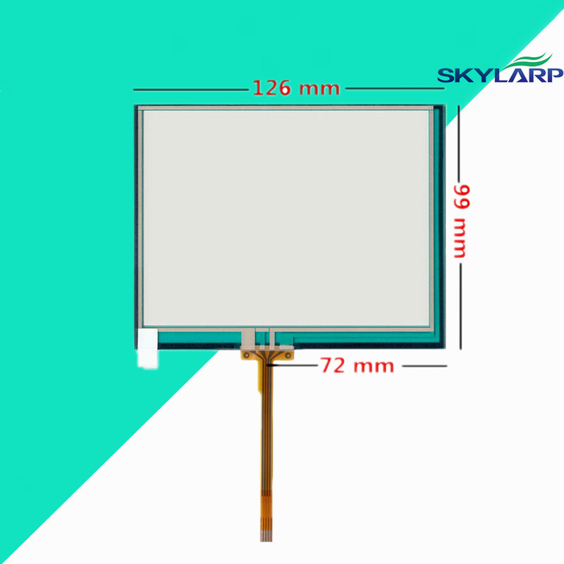 5.6 inch 126mm*99mm Resistive Touch Screen Digitizer Industrial equipment AT056TN04 V.6 TM056KDH01 02 touch