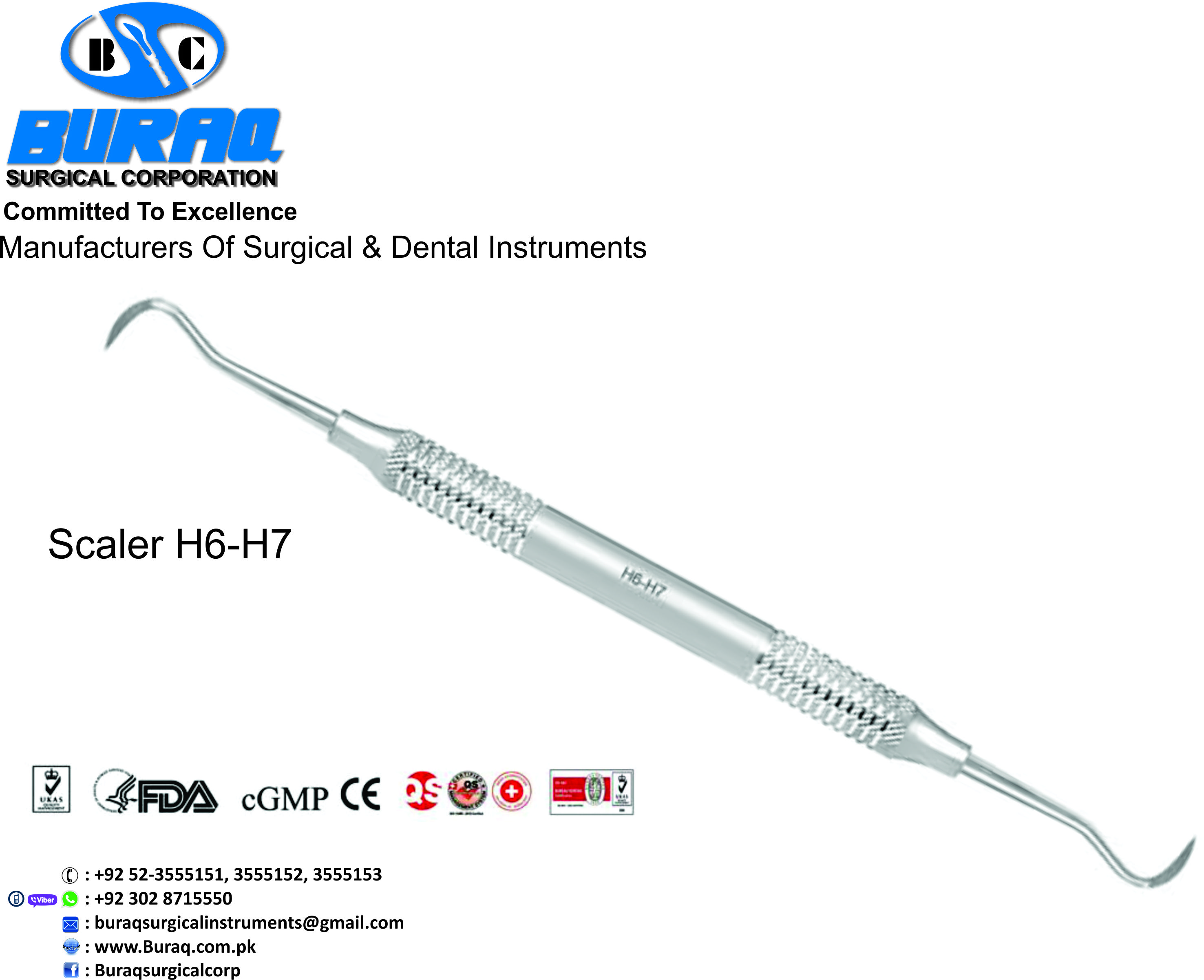 SICKLE SCALER H6-H7