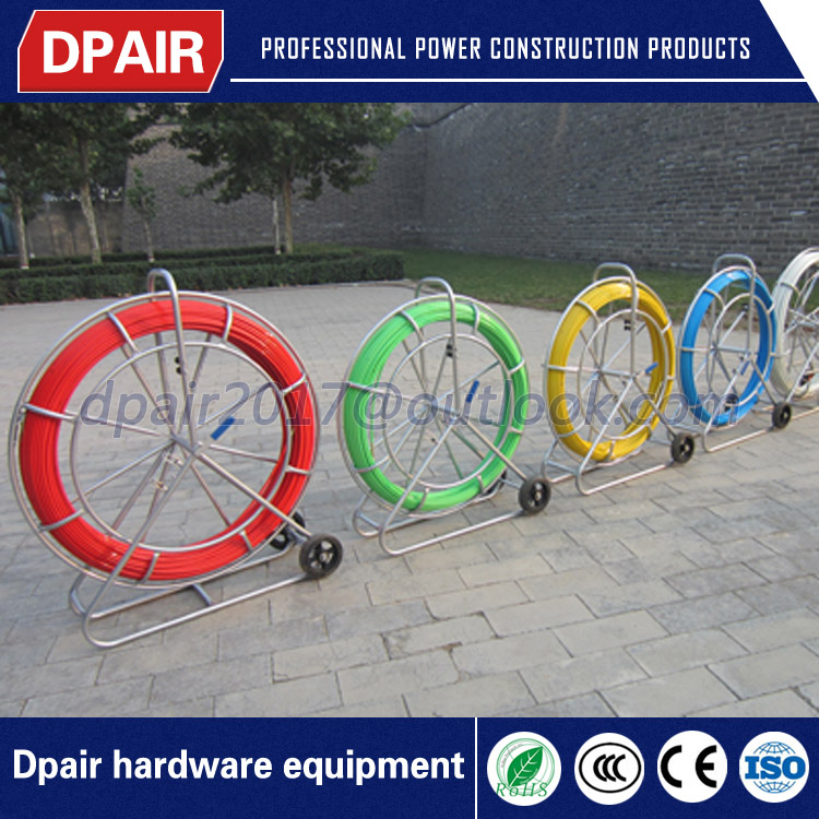 high strength conduit duct rod reel duct rodder