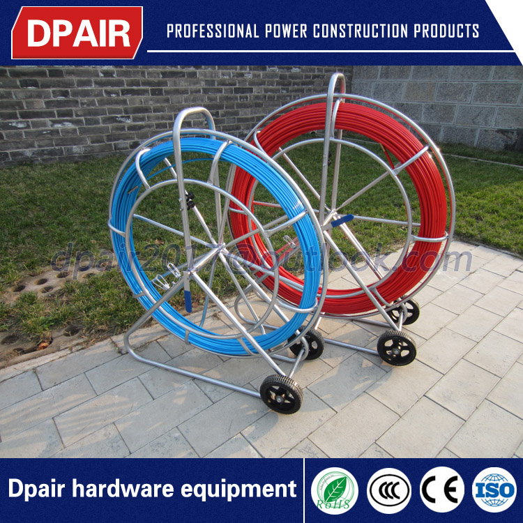 diffrent diameter and length conduit duct rod reel duct rodder with good price