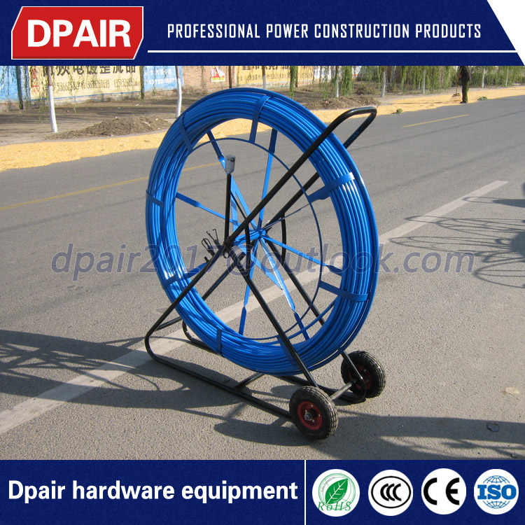 low price conduit duct rod reel duct rodder with good quality
