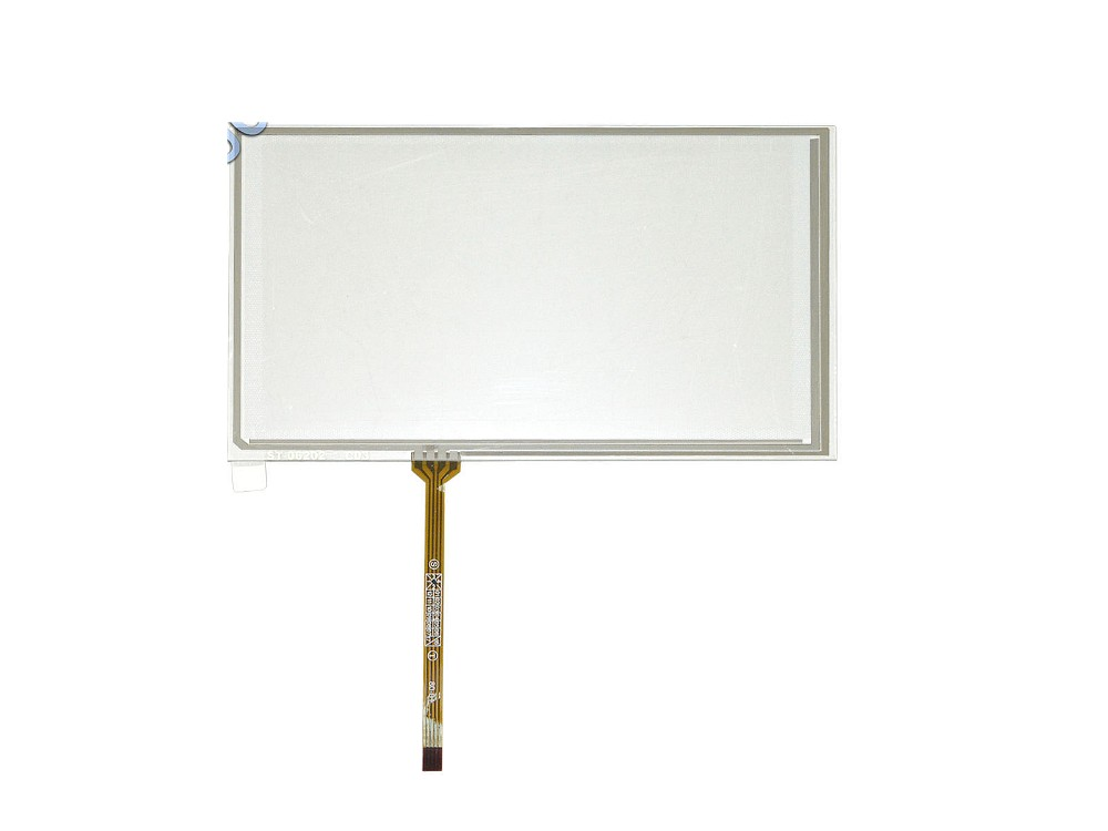 6.2 inch 4 Wire Resistive Touch Screen Panel For 800x480 TM062RDH03 155x88mm Screen touch panel Glass Free shipping