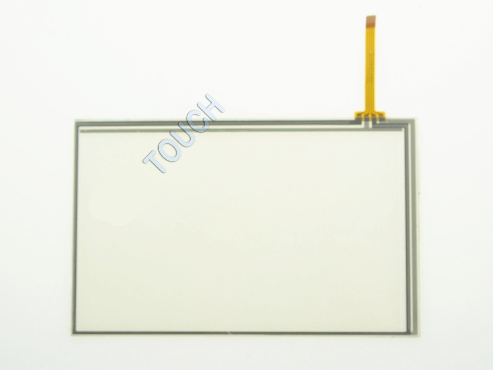 7 Inch 4 Wire Resistive Touch Screen Panel Digitizer 165x104mm For 7 800x480 LCD Screen touch panel Glass Free shipping