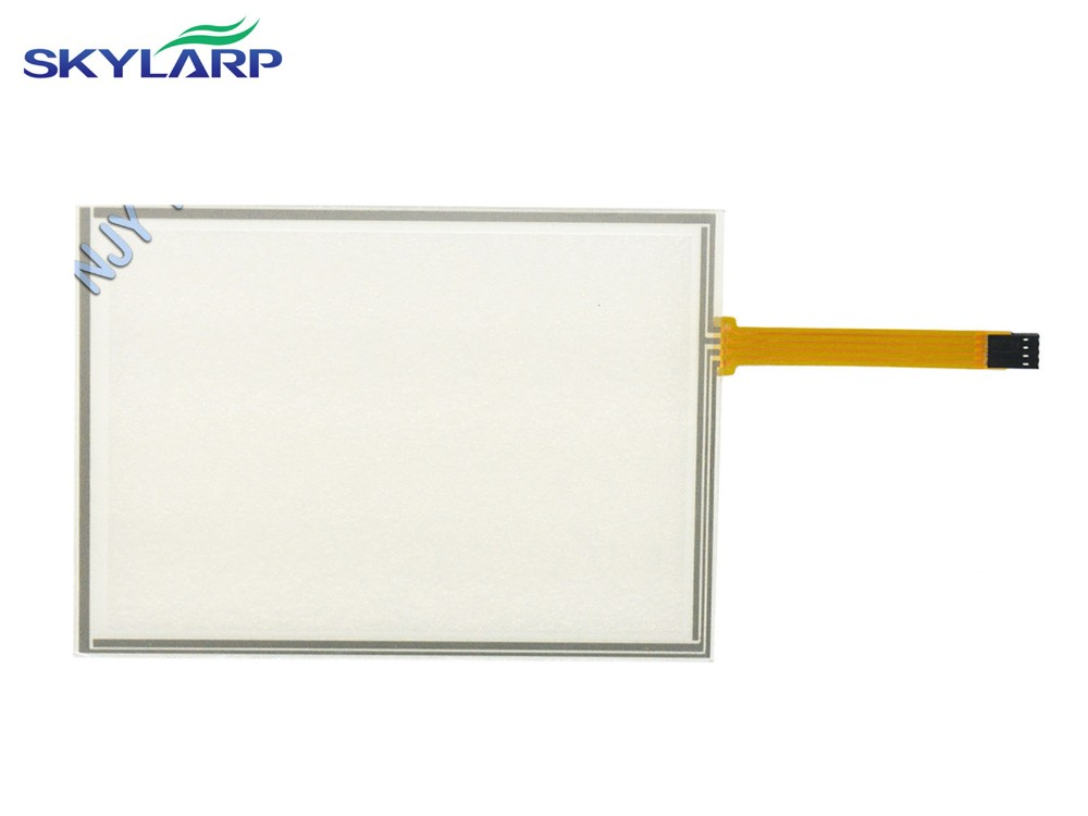 8'' Inch 4 Wire Resistive Touch Screen Panel USB 183x141mm for EJ080NA-04C LCD W7 touch panel Glass Free shipping