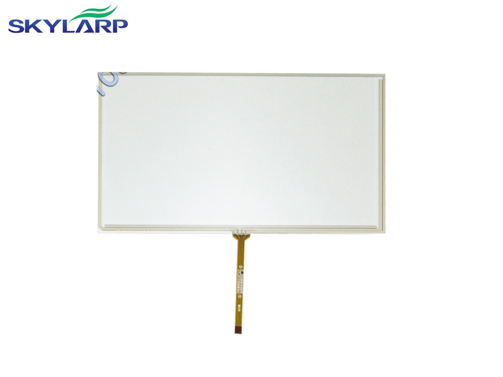 9 inch 4 Wire Resistive Touch Screen Panel Digitizer for HSD090IDW1 TFT 211x126mm touch panel Glass Free shipping