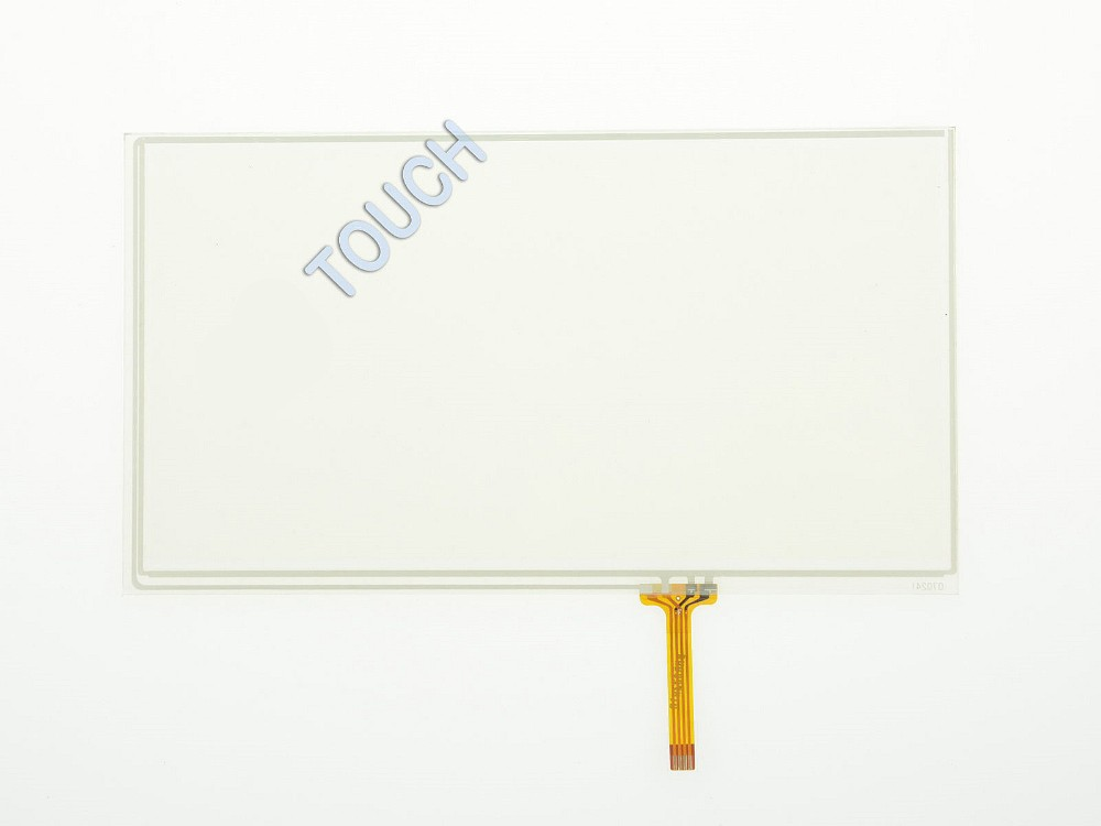 7 Inch 4 Wire Resistive Touch Screen Panel Digitizer 167mmx93mm Universal GPS Screen touch panel Glass Free shipping