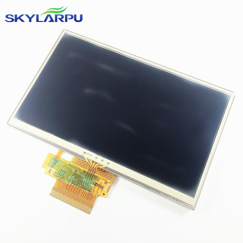 Original 5 inch complete LCD screen for LMS500HF13 GPS LCD display screen with touch screen digitizer panel
