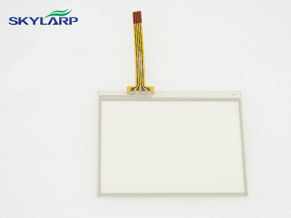 3.5 4 Wire Resistive Touch Screen Panel for MP4 MP5 TP GPS Replacement 77x64mm Screen touch panel Glass Free shipping