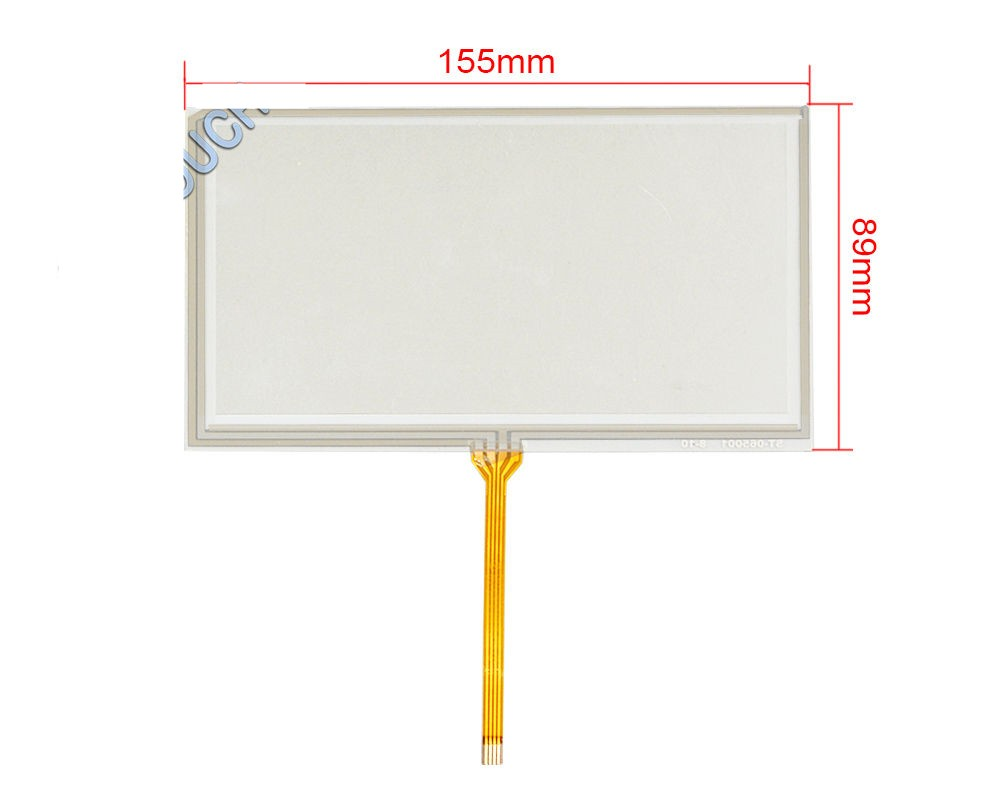 6.5 inch Film to Film 4 Wire Resistive Touch Screen Panel 155x89mm USB Controller Screen touch panel Free shipping