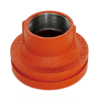UL FM Ductile Iron Grooved Pipe Fittings Concentric Reducer