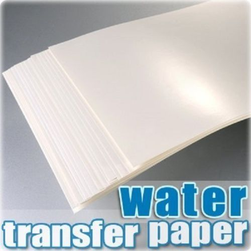 A4 Inkjet waterslide decal paper for ceramic glass printing