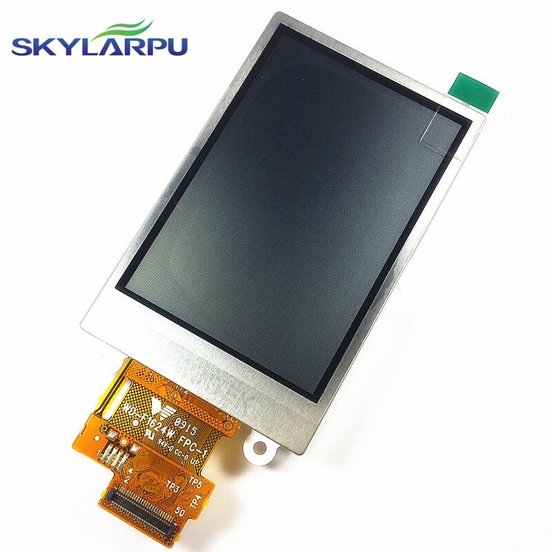 2.6inch LCD screen for Garmin Dakota 20 GPS LCD display Screen WD-F1624W-7FLWH FPC-1 LCD display Screen panel