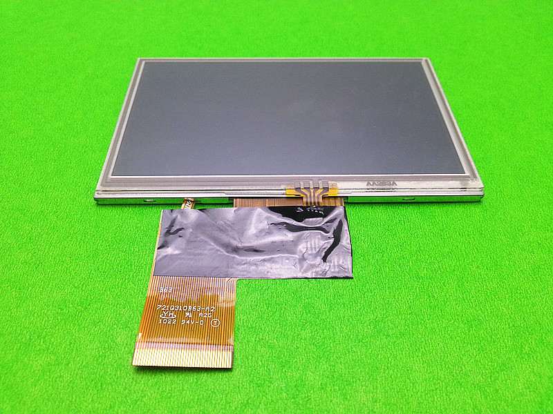 4.3' inch for Launch x431 diagun LCD display with touch screen digitizer touch panel free shipping cost.