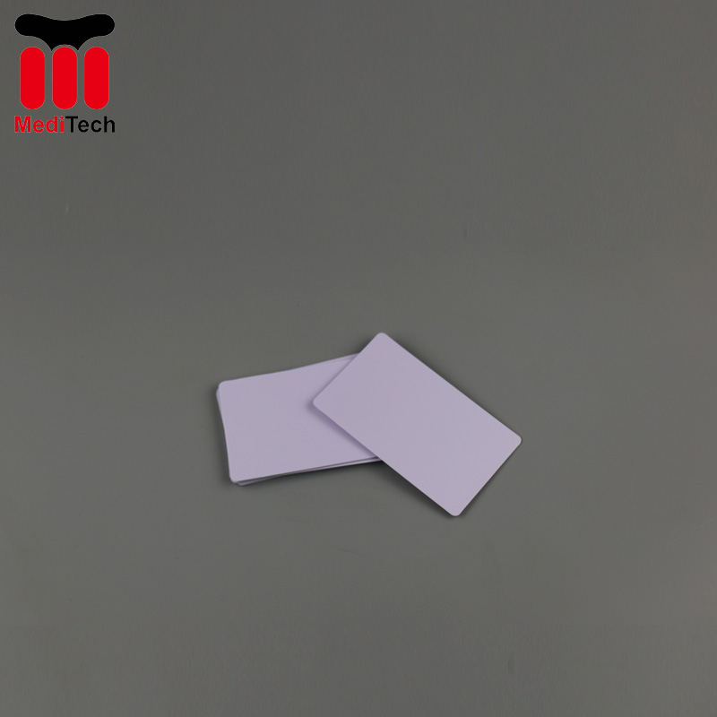 CR80 Diamond Flocked Cleaning Card for USB Magnetic Card Reader