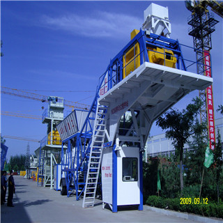 China Made YHZS60 Mobile Concrete Batching Plant with CCC/ISO9001 Certificates