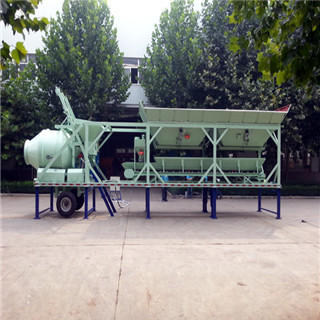 New Designed High Efficiency YHZM25 Mobile Concrete Mixing Plant on Sale