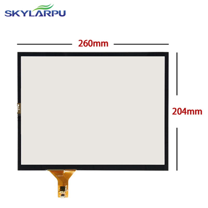 skylarpu 260mm*204mm Capacitive touch panel Glass External screen of touch screen 260mmx204mm Handwritten screen Free shipping
