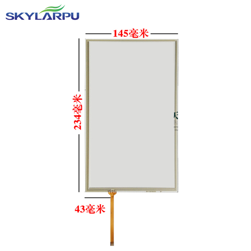234*145mm touch screen for WEINVIEW TK6100I TK6100IV3 TK6100IV5 MT6100IV3 TK6102I touch panel Glass screen 145*234mm