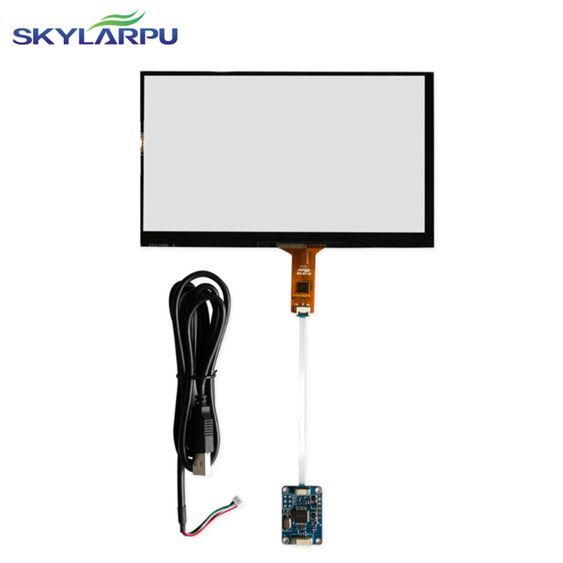 164mm*99mm Touch screen Capacitive touch panel Car hand-written screen Android capacitive screen development 164mmx99mm