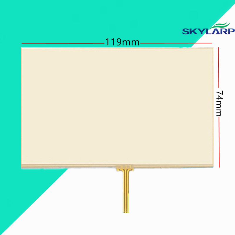 5 inch Touch screen for TOMTOM O LIVE 1535M GPS touchscreen panel glass digitizer replacement Free shipping