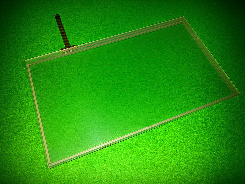 7 inch 4 wire Resistance 163mm*97mm Touchscreen 163*97mm Touch screen digitizer lens panel Free shipping