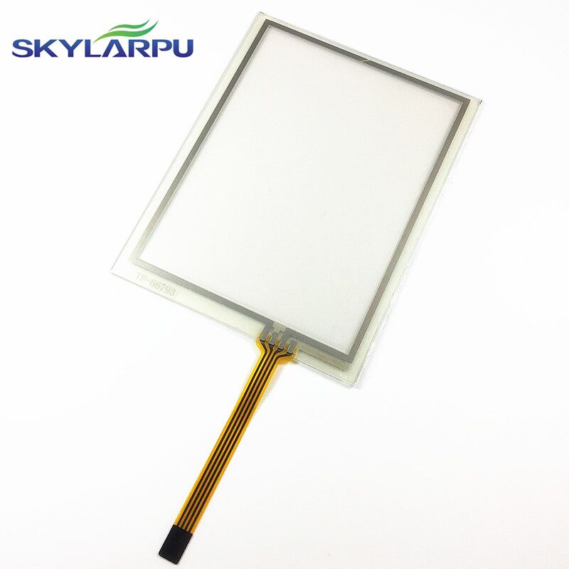 TouchScreen for Trimble TSC2 AMT98636 AMT 98636 Touch Screen Digitizer Panel Sensors Front Lens Glass Replacement