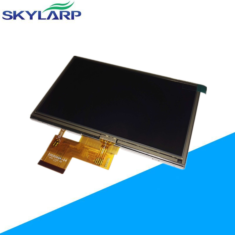 5.0 inch LCD Screen for Garmin Nuvi 1490 1490T 1490TV 1490LMT GPS LCD display screen panel with Touch screen digitizer