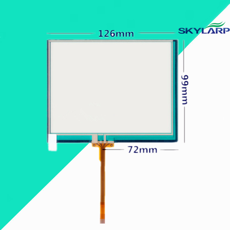 5.6 inch 126mm*99mm Touchscreen for authentic Dr Ginde KT300 Touch panel Replacement 126*99mm Front Glass Digitizer