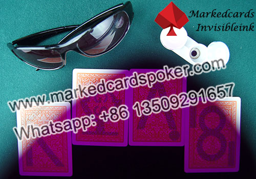 GS Fournier 2818 marking cards with invisible ink for poker contact lenses