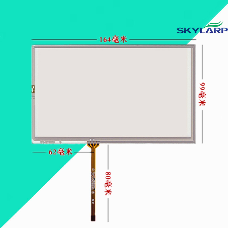 Touchscreen TK6070IH/TK6070iK/TK6070 AMT9545 LCD touch panel Glass 164*99mm Touch screen Handwritten Free shipping