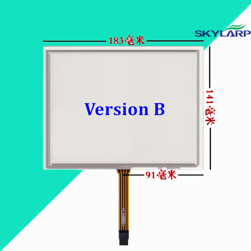 8''inch 183*141mm Touchscsreen For Innolux at080tn52 v.1 for CHIMEI EJ080NA-05B touch screen panel Glass Handwriting