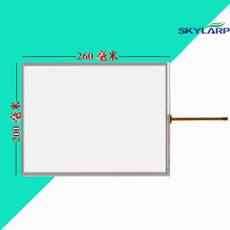 12.1 inch Touchscsreen 4:3 standard touch screen panel Glass Handwritten screen industrial equipment LCD screen 260*200mm