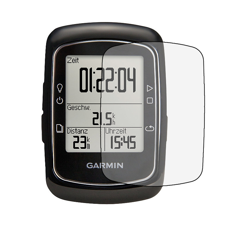 LCD screen electrostatic coasting for Garmin EDGE 200 bicycle/Bike GPS speed LCD screen protector toughened film Glass