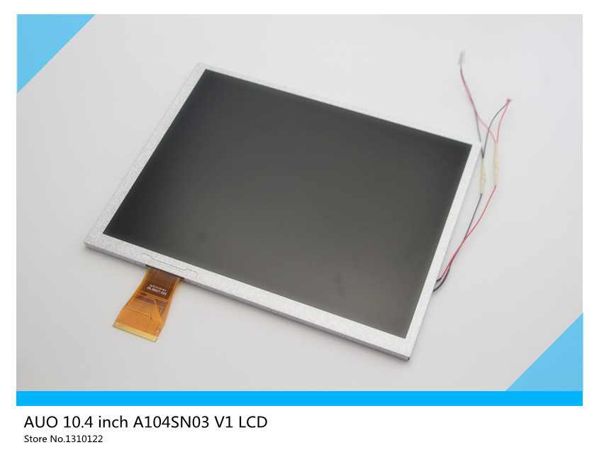 AUO 10.4 inch LCD FT A104SN03 V1 LCD screen display+driver board set Free shipping
