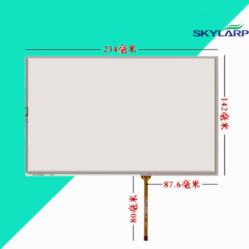10.2''inch Touchscreen at102tn03 v9 16:10 LCD touch panel Glass 234*142mm Touch screen Handwritten Industrial laptop screen