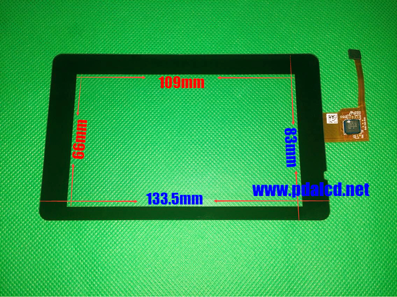 5 inch Capacitive Touch screen GCH148ACA36 H148A-13-P120823-0022 digitizer panel GPS Navigation Touch Screen Panels