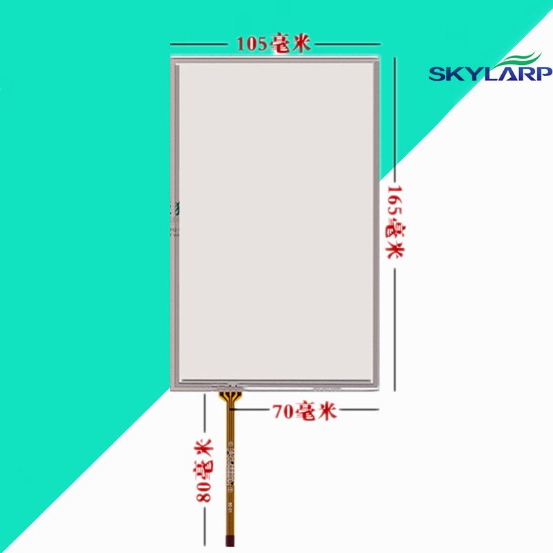 7''inch Touchscreen for weinview TK6070IH/TK6070iK/TK6070 AMT9545 LCD touch panel Glass 105*165mm Touch screen Free shipping